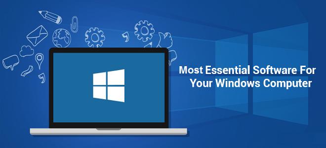 Essential Windows Software