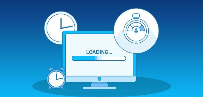 loading time of website